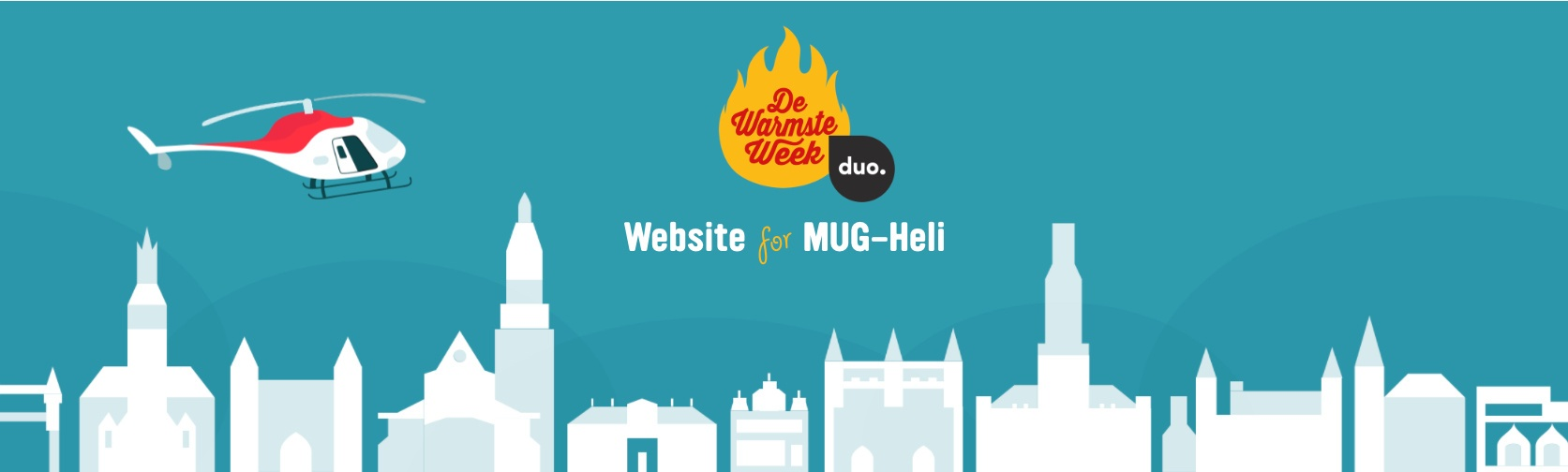 De Warmste Week - Studio Brussel - Website for Life - Duo